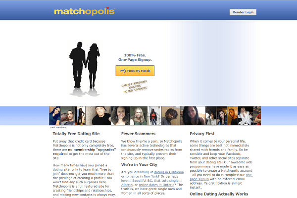 free dating site 10 - matchopolis