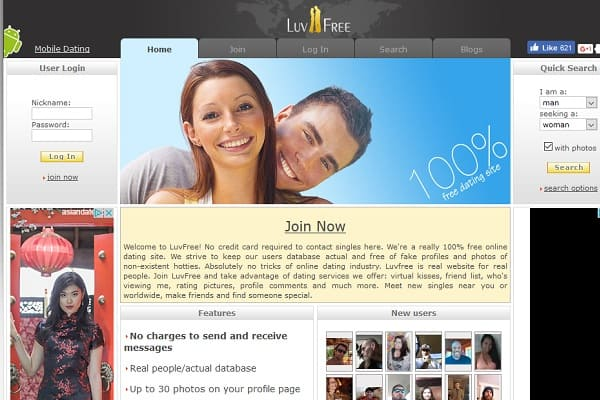 free dating site 12 - Luvfree