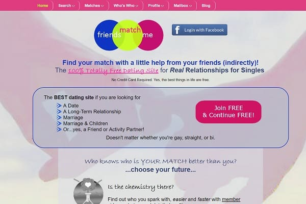 Dating site no registration