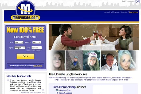 free dating site 22 - Metrodate