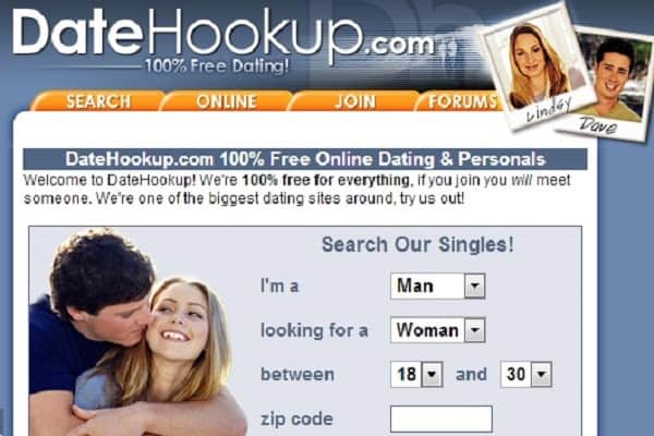 Website for hooking up free