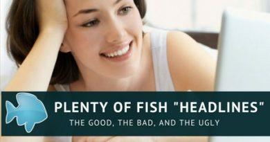 Plenty of Fish Headlines