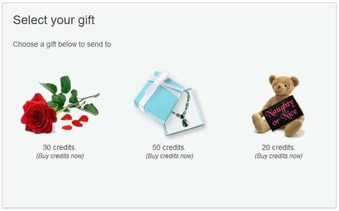 Ashley madison gifts