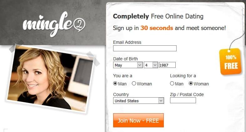 mingle2 homepage