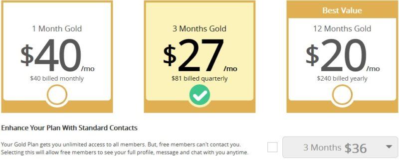 adultfriendfinder cost