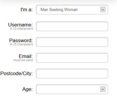 uLust profile registration 1