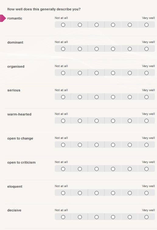 be2 questionnaire 3
