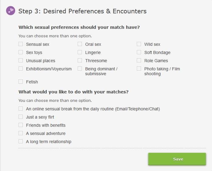 lisa18 search preferences