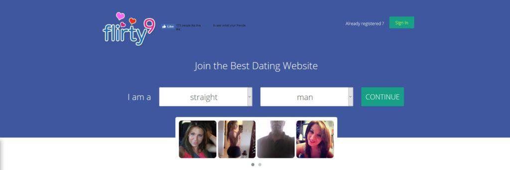 www flirty9 com