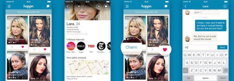 happn app user experience