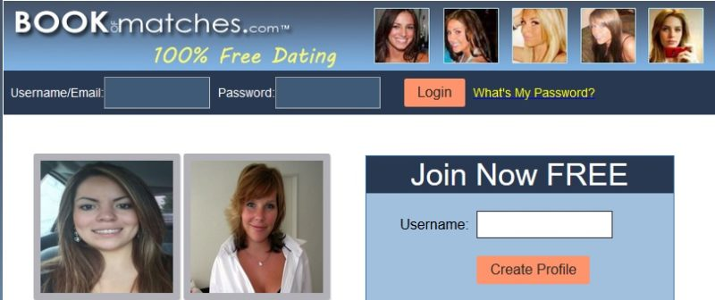 book of matches dating site review