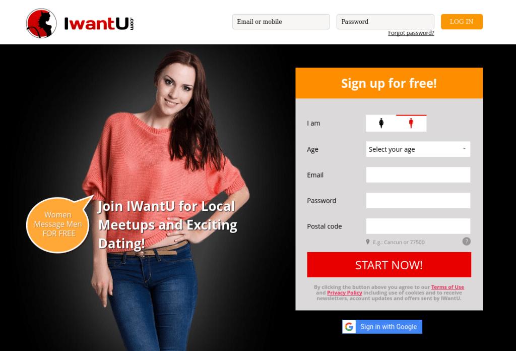 Iwantu dating site