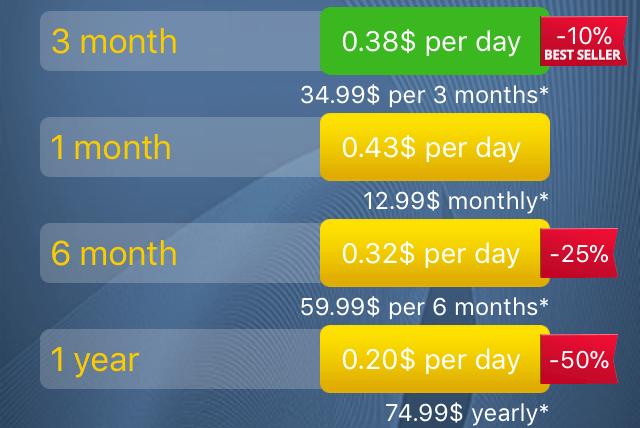 Meet24 app cost