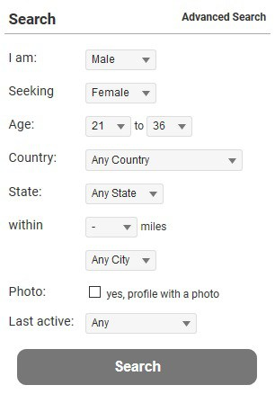 MexicanCupid Search Filters