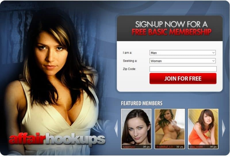 cheating hookup sites