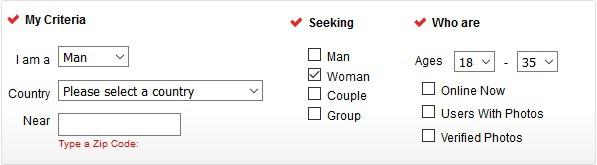 AffairHookups Search 1