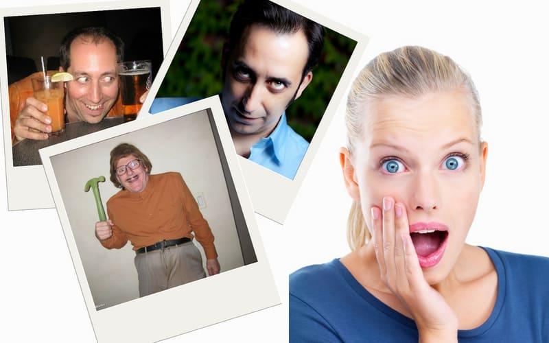 Creepy guys on dating sites