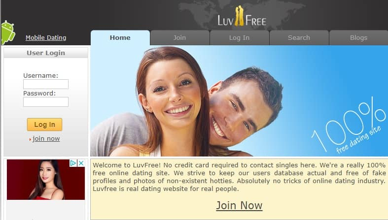 Dating site Luv